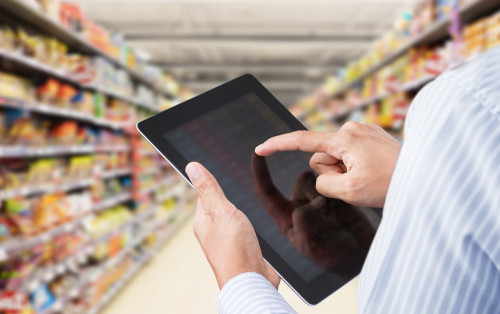 Construction of automatic ordering system for major retailers